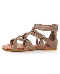gladiator sandals. in love.