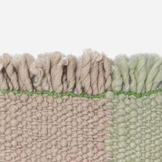 """Bold by Hella Jongerius is made using a combination of mechanical and hand-spun yarns resulting in a thick, warm and expressive rug. Bulky and irregular in character, it is the epitome of tactility, a quality that Hella believes to be 'the most important and best known characteristic of a rug'."""