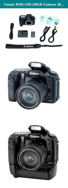 Canon EOS-10D DSLR Camera (Body Only). Canon Cameras (8363A013) Canon EOS 10D Kit.