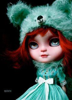 Ooak Custom Icy / Blythe Art Doll Cassandra by Iriscustom