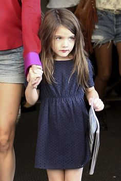 Yes, yes, I know this is a picture of Suri Cruise. But that dress is darling.