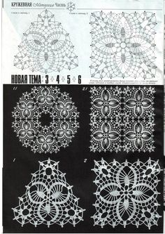 Irish lacy motif