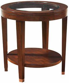 Monroe End Table, Oval