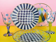 Permanently Paint Glass Dishes