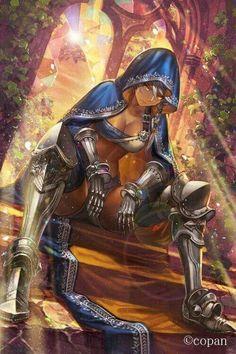 Uma mulher mais corajosa que o próprio guerreiro que a desafia Character Portraits, High Fantasy, Fantasy Women, Fantasy Girl, Character Illustration, Fantasy Armor, Medieval Fantasy, Anime Fantasy, Dnd Characters