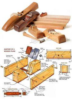 DIY Hand Plane - Hand Tools Tips and Techniques | WoodArchivist.com