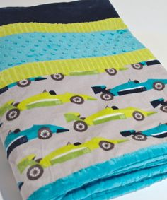 X-Large Boy's Double Minky Blanket/Quilt-Toddler or by SewGreatful