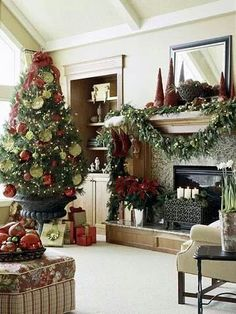 Natale in soggiorno