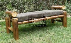 B a n c a Más Bamboo Art, Bamboo Crafts, Bamboo Fence, Bamboo Furniture, Outdoor Furniture, Outdoor Decor, Bamboo Architecture, Bamboo Design, Hawaiian Luau