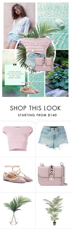 """""""Summer Love"""" by marion-fashionista-diva-miller ❤ liked on Polyvore featuring Sanders, Alexander McQueen, Alexander Wang, Valentino, NDI, Summer, summerstyle, summerbbq and summer2016"""