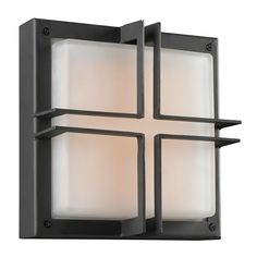 PLC Lighting Piccolo 1 Light Outdoor Wall Sconce   AllModern