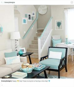 Exceptional Turquoise Home Decor, Family Rooms, Living Spaces, Living Rooms, Lounges,  Family