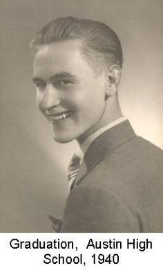 Graduation, Austin High, 1940