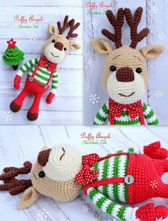 Amigurumi Deer Marley-Free Pattern (Amigurumi Free Patterns)