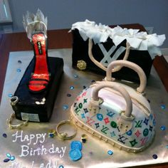 Louis Vuitton Cake (all sugar work)