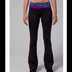 NWT new Ivivva Endless ambition pants 10 Brand new, with tags Ivivva Endless Ambition pants reverses to all black Girls 10 New in stores and online for $64 Pet/smoke free home  From busting a move at dance class to the classroom these slim flare reversible pants will take you through your day with ease! Luon® fabric is sweat-wicking and has four-way stretch to move with you Added LYCRA® fibre for serious stretch and long-lasting shape retention Stow your essentials in the hidden back pocket…
