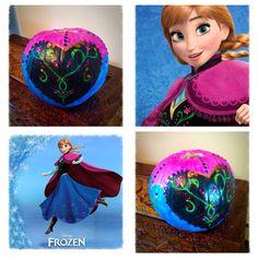 Frozen Anna Halloween pumpkin Princess Painting, Frozen Pumpkin, Halloween Costumes, Halloween Stuff, Pinterest Projects, Anna Frozen, Halloween Pumpkins, Trick Or Treat, Pumpkin Ideas