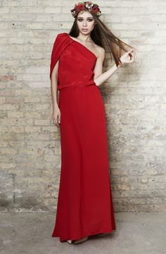 Vestido asimétrico de seda - Asymmetric silk dress | SAYAN