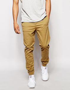 New Look Woven Chino Joggers