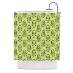 Deco Flourish by Holly Helgeson Shower Curtain