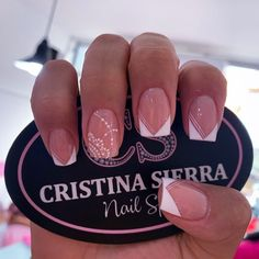 Manicure Nail Designs, Nail Manicure, White Nails, Pink Nails, Precious Nails, Glow Nails, Heart Nails, Best Acrylic Nails, Super Nails