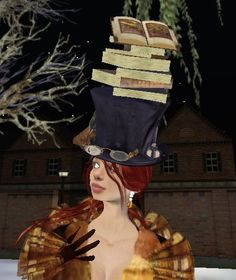 Grim Bros Bookish Tophat by The Daring Librarian, via Flickr