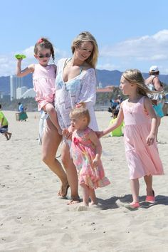 Photo credit: Leah Messer Facebook...Leah Messer  Spending Beach Time With Daughters
