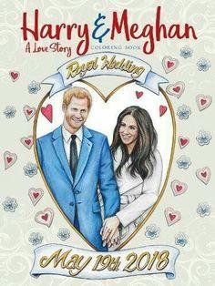 Harry and Meghan: A Love Story Coloring Book Teresa Goodridge: Books Meghan Markle Prince Harry