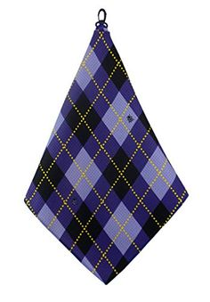 Women s Golf Accessories Gifts Microfiber Golf Towel Purple Argyle Print by  BeeJos     To view further for this item 4574229f86d3