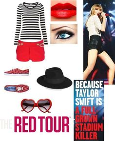 Taylor Swift Red Tour Outfit
