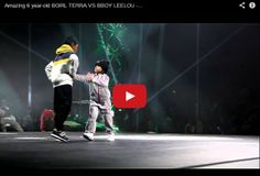 6-latka tańcząca breaka...i do tego z jakim charakterkiem!  Przed Wami: BGirl Terra  walcząca ze starszym od siebie chłopcem Bboy'em Leelou ~~ link do video: http://www.tanczyc-chce.pl/filmiki/video/3484-amazing-6-year-old-bgirl-terra-vs-bboy-leelou-chelles-battle-pro-2013?groupid=12