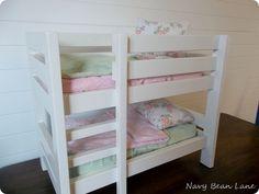 Baby doll bunk bed @ Navy Bean Lane