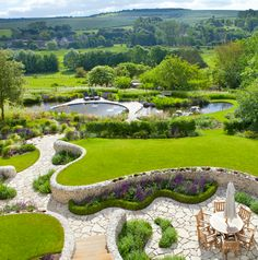 Follers Manor Gardens: Located in Polegate, Sussex, UK. Designed by Ian Kitson Landscape Architecture and Garden Design based in London.  http://www.iankitson.com/IKLA-Pictures.html
