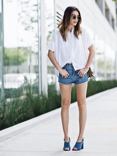 7 Sandals Every Single Fashion Blogger Owns via @WhoWhatWear