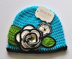 Vera Bradley Island Blooms Inspired Beanie Hat - Baby Hat, Newborn Beanie, Newborn Hat, Child Hat, Kids Hat, Baby Prop, Baby Beanie Hat. $30.00, via Etsy.