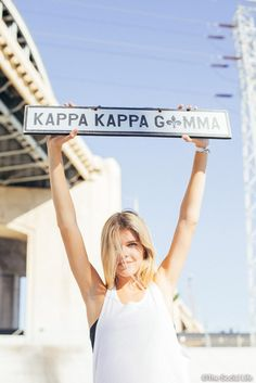 Kappa Kappa Gamma Vintage Sign