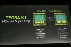 NVIDIA announces Tegra K1 - 64-bit chipset with 192 cores