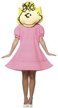 Adult Peanuts Sally Costume - Peanuts Costumes