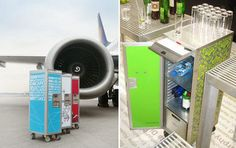 Airline food carts