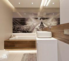 Aranżacje wnętrz - Łazienka: Mieszkanie w Gydni - Łazienka, styl minimalistyczny - InteriorIdea. Przeglądaj, dodawaj i zapisuj najlepsze zdjęcia, pomysły i inspiracje designerskie. W bazie mamy już prawie milion fotografii!