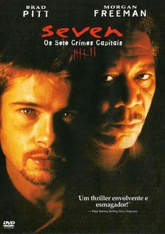 Um filme de David Fincher com Brad Pitt, Morgan Freeman : Dois policiais, om jovem e impetuoso David Mills (Brad Pitt) e o outro maduro e prestes a se aposentar, William Somerset (Morgan Freeman), são encarregados de uma periogosa investigação: encontrar um serial killer que mata as pessoas seguindo a or...