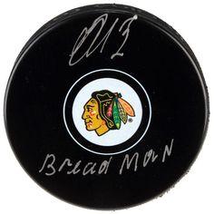 Artemi Panarin Chicago Blackhawks Fanatics Authentic Autographed Hockey Puck with Bread Man Inscription - $169.99
