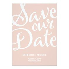 Rustic Vintage Save The Date Invitation Card