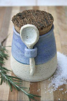 Rustic Salt/Spice Jar #Japanesepottery