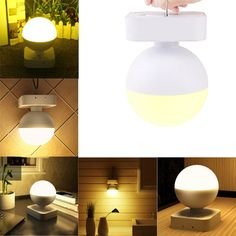 Portable USB Rechargeable Touch Sensor Dimmable LED Night Light Table Bedside Reading Camping Lamp