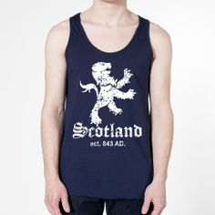 Scotland Crest Cool Scottish Flag Retro Cool Pride Mens Tank Top XX-Large Navy ...