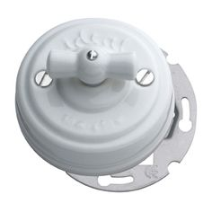 Interruptor porcelana empotrar