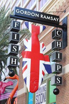 Gordon Ramsay Fish & Chips Opens at Linq Promenade, Worth the Wait