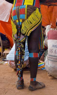 Africa | Details; Hamer woman. Arba Minch, Ethiopia | ©Marc Veraart