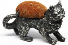 French Figural Pique-Epingle/Pin Cushion circa 1865-1880 from parischateau on Ruby Lane